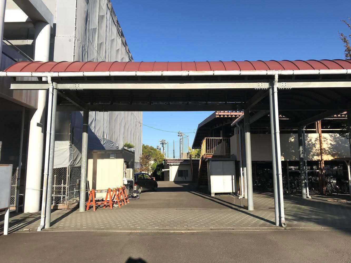 静岡市立高校改修工事